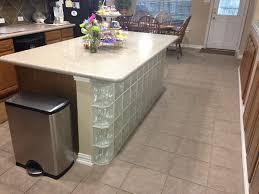 kitchen island block glass blocks for kitchen islands houston glass block