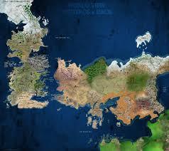 A Map Of The World Book by A Map Of A Song Of Ice And Fire Version 3 By Scrollsofaryavart On