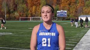 bentley college football 2015 assumption college field hockey postgame vs bentley youtube