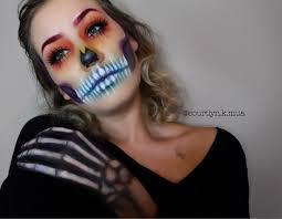 Voodoo Queen Halloween Costume Voodoo Queen Rainbow Skull Halloween Makeup Skull Makeup