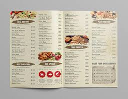 24 restaurant menu templates u2013 free sample example format