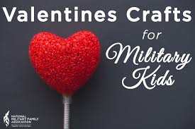 easy valentine u0027s day crafts for military kids my military life
