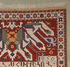 tom stocker inscribed armenian rug