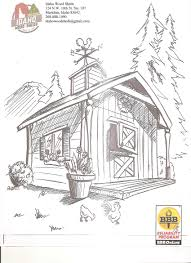 coloring download ranch coloring pages ranch coloring pages barn