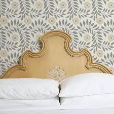 Flower Decoration For Bedroom Flower Stencil Indian Floral Stencil Royal Design Studio Stencils