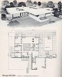 modern home house plans 69 best midcentury floor plans images on modern house
