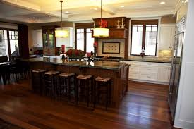 Dark Floor Kitchen by Dark Kitchen Cabinets With Dark Floors Trendy Love The Tones In