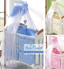Baby Bed Net Canopy by Coronet Canopy Drape Mosquito Net 320cm Fits Cot Bed Check Or