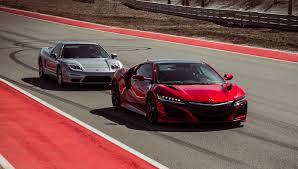 lexus lc 500 vs nsx supercar shootout original acura nsx vs new acura nsx automobiles