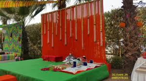 Ugadi Decorations At Home Mehndi Function Decoration Ideas Mehendi Stage Decoration