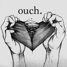 image via we heart it art blackandwhite broken drawing heart