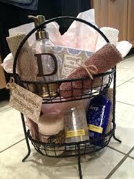 bathroom basket ideas bridal bathroom basket ideas about wedding gift baskets on org