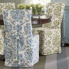 Damask Dining Room Chair Covers Sure Fit Cotton Classic Dining Chair Slipcover Disc Moss Green