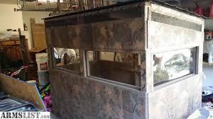 Deer Blind Elevator Brackets Armslist For Sale Trade 4x8 Custom Deer Blind