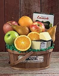 fruit basket gifts just right fruit basket from stew leonard s gifts