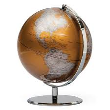 Planet Gold Decor Torre U0026 Tagus Latitude World Globe Gold Lijo Decor