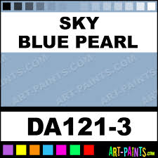 sky blue pearl dazzling metallics metal paints and metallic paints