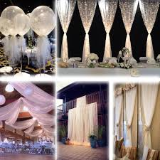 pew decorations for weddings aliexpress buy white 54 x120 ft 40 yards tulle bolt