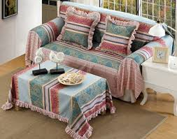 Qoo  New Fresh Designs Sofa Cloth Country Style Sofa Cover - Sofa cover design