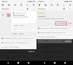 notification settings android all the new ways to use notifications in android 8 0 oreo