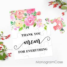 mothers day card messages mother u0027s day puzzle card with beautiful flowers