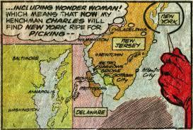 Map Of Gotham City Dc Map Of Superhero Cities