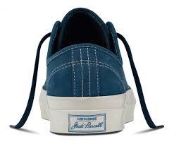 buy converse jack purcell signature low top nubuck blue fir egret