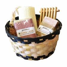 bath gift baskets handmade his and hers spa gift basket set goat s milk honey