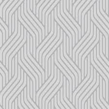 geometric wallpaper avec k2 oslo blue departments diy at b q idees