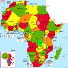 Map Of Africa Political by An Interactive Image Thinglink