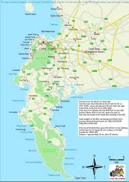 Port Elizabeth South Africa Map by Cape Town Map