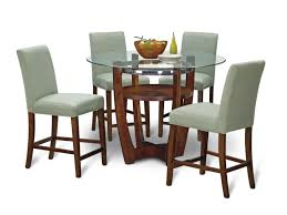 alcove sage 5 pc counter height dinette value city furniture
