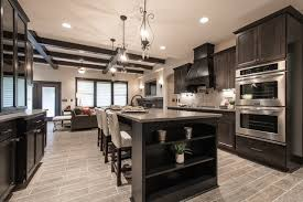 Parade Of Homes Rylee Ann Plan With Casita Transitional - Kitchen photos dark cabinets