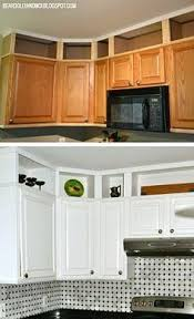 above kitchen cabinet ideas best 25 above cabinets ideas on above kitchen