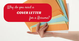 Do I Need A Cover Letter For A Resume Cover Letter For A Resume Why Do You Need It Absolutely Wisestep
