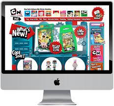ecommerce web design cartoon network polly playford