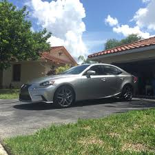 lexus is 250 custom black 2015 is250 f sport atomic silver rioja red build thread
