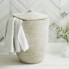 Light And Dark Laundry Hamper by Alibaba Laundry Basket Laundry U0026 Storage The White Company Uk