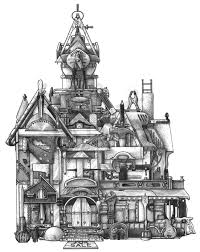 House Drawings by Tool House Dsart Com Don Stewart Is So Creative I Love His