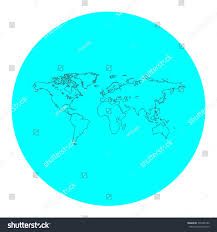 Map Of The World Outline by Map World Black Outline Flat Icon Stock Vector 335498186