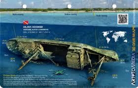 Bonaire Map Hooker Bonaire 3d Dive Site Card