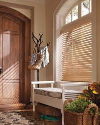 Wood Blinds For Arched Windows Blinds Hunter Douglas Everwood Epic Open Arch Traditional Entry Jpg