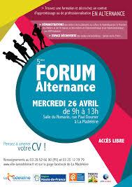 chambre des m騁iers recrutement mie du roubaisis 5ème forum de la alternance 2017