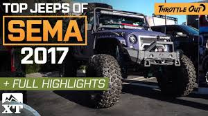sema jeep yj top jeep wrangler builds of sema 2017 full event coverage