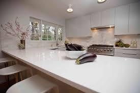White Galley Kitchen Pictures Kitchen White Galley Kitchen Design With Glossy Light Grey Quartz