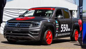 volkswagen amarok custom modified vw amarok beats time challenge goautonews premium