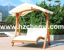 wooden swing bed deluxe wooden swing bed wood swing chair hangzhou