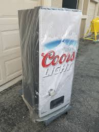 coors light beer fridge brand new coors light silver bullet refresherator talking beer