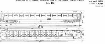 carrozze treni carrozze uic x parte quinta le carrozze ristoro scalaenne
