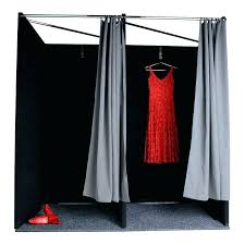 Fitting Room Curtains Dressing Room Curtains Changing Room Curtains Open Bothrametals